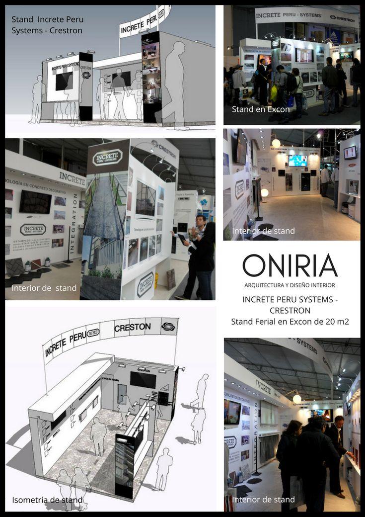 Oniria: Stand de Increte Peru Systems y Crestron en Feria Excon