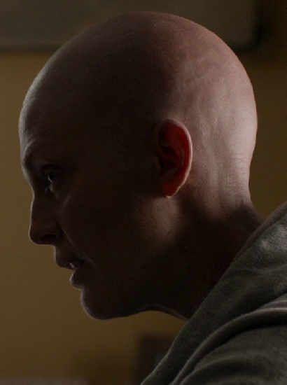 Julianne Moore as Laurel Hester - hairless