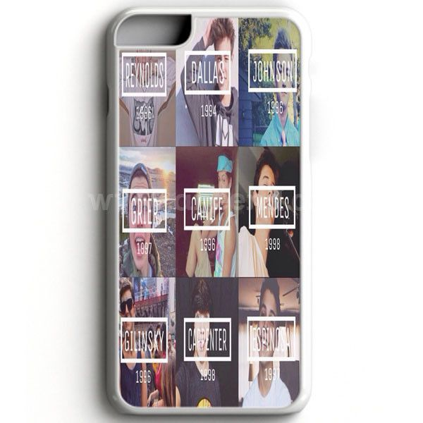 Magcon Boys Collage case provides a protective yet stylish shield between your iPhone 7 and accidental bumps, drops, and scratches. Features slim and lightweight profile, precise cutouts, and provides