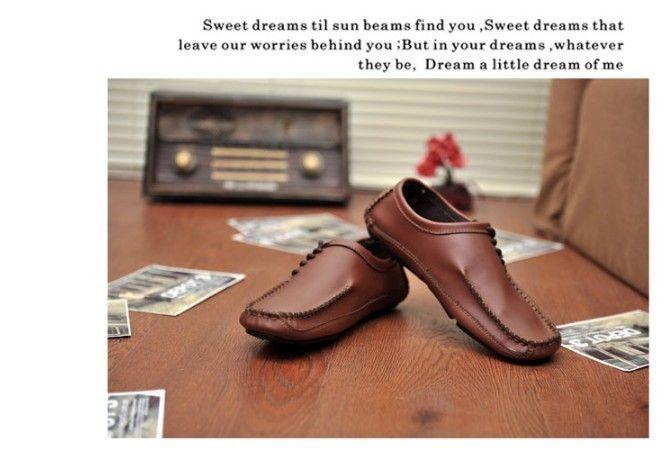 Высокое качество мужчины обувь из натуральной кожи летние дышащая квартиры свободного покроя для вождения gommini бездельники лодки обувь купить на AliExpress