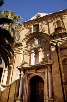 Fachada más monumental del barroco antequerano