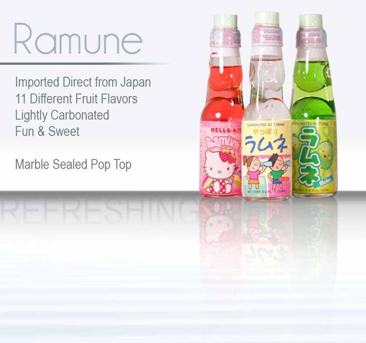 ramune drink how to open