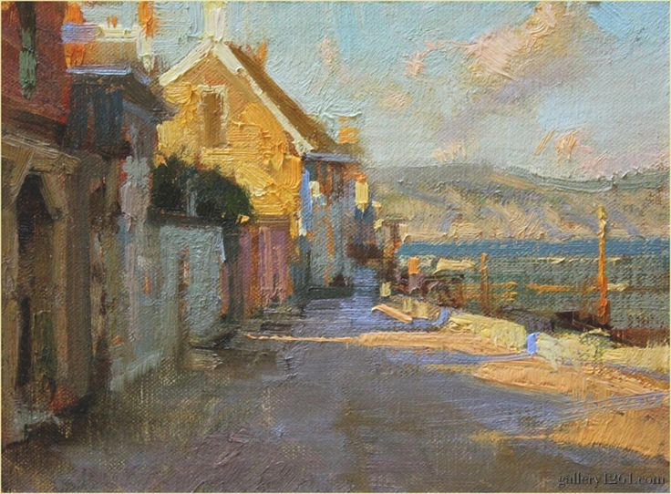 474 Best B Oil Painting Buildings Houses Images On
