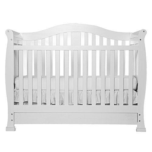 Dream On Me Addison Crib White