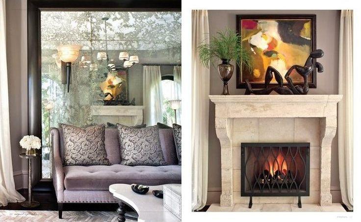 Kris Jenner House Interior | Bruce and @KrisJenner 's Living Room designed by @JeffAndrewsDsgn
