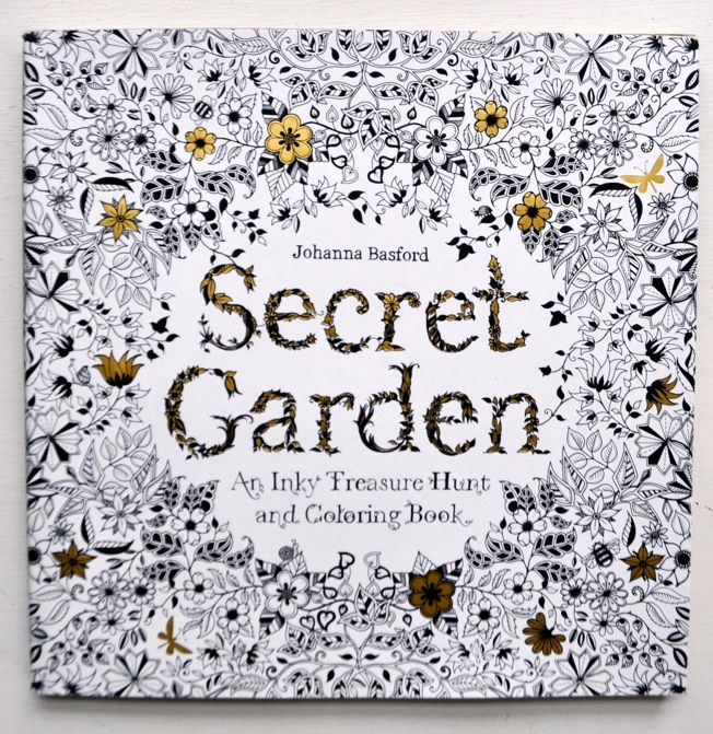 Look what we just got! More *Secret Garden Coloring Books* - one of the hottest coloring books out there! Available at our Ben Franklin Crafts store in Monroe, WA. Call to order: 360-794-6745 (while supplies last).