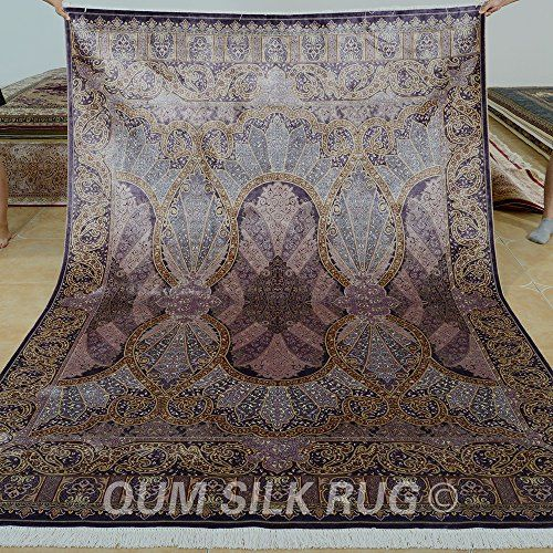 Rugged Quality Rug Handmade Directly From China Purple Suppliers Yilong Vantage Traditional Bedroom Carpet Persian