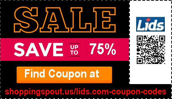 Get Up To 75 Off Lids Coupon Code At Shoppingspout Us And Many