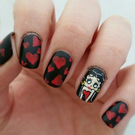 Betty Boop Nails: 17 Best Images About Nail Ideas On Pinterest
