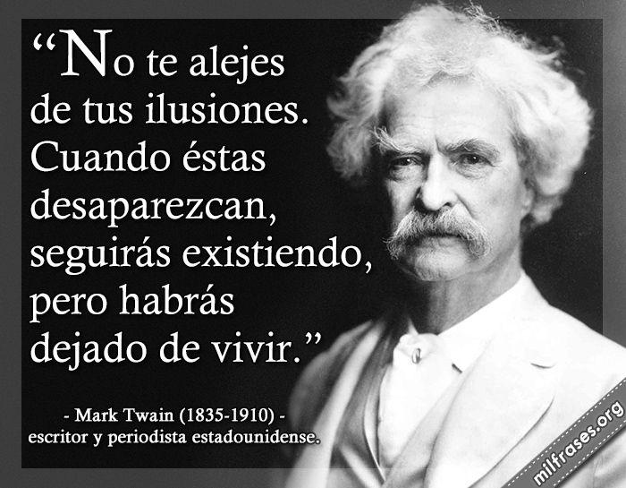 Samuel Langhorne Clemens «Mark Twain», escritor y periodista estadounidense.