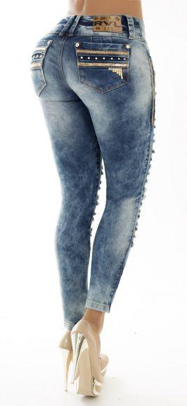 Jeans levanta cola REVEL 56087