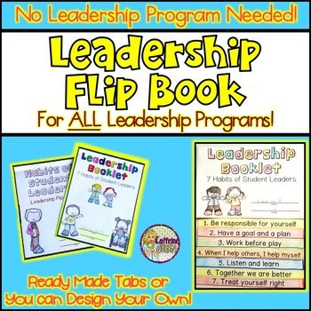 Leadership Flip Book for Any Leadership Program - Characte