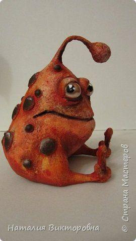 Мистер Бамбошкин с планеты Гамма из созвоздия Скульптора! Вот такую родословную придумала Юленька ( http://stranamasterov.ru/user/355709 ) для моего инопланетянина. фото 2