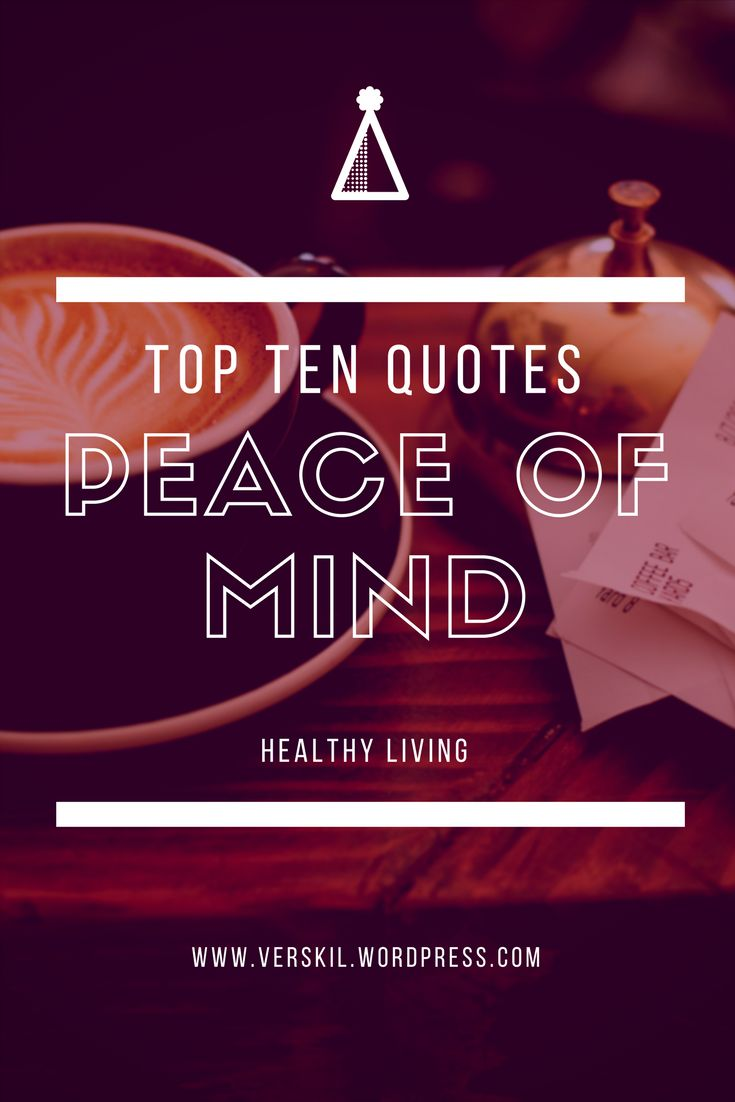 how to find peace of mind and happiness