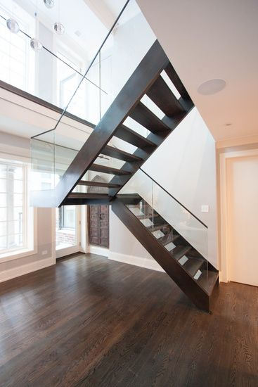 Modern Railings, Custom Stairs Chicago, Modern Staircase design Chicago, Custom Stair Design, Custom Furniture - STAIRS &…