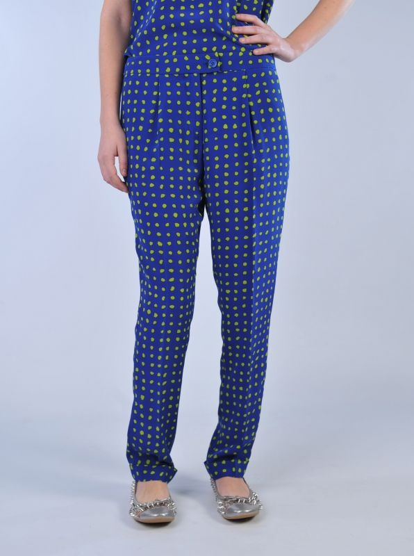 MOSCHINO CHEAP AND CHICVPantaloni a pois verdi