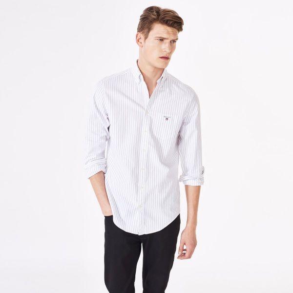 Oxford Pinstriped Shirt