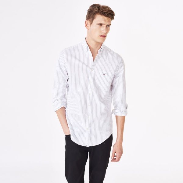 Oxford Pinstriped Shirt