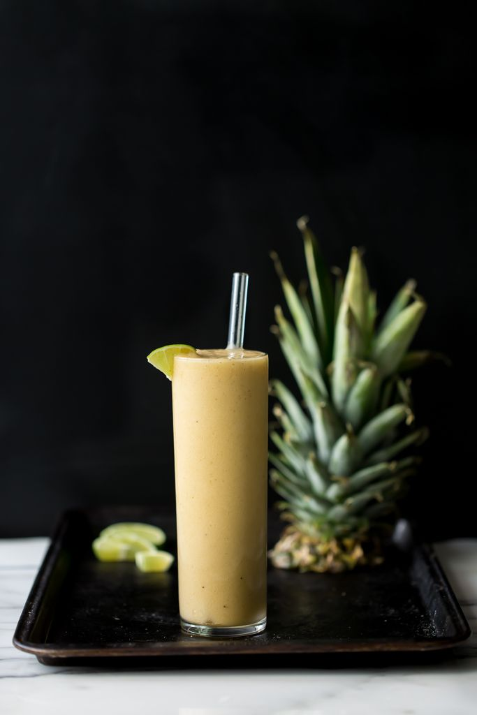 Pineapple-Maca Bliss Smoothie