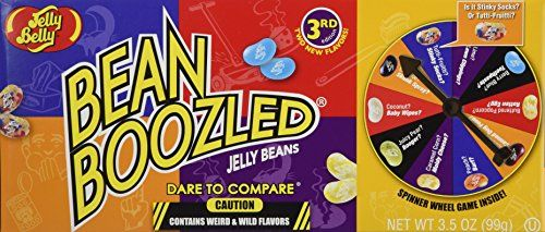 Massimo REALLY wants this game! Jelly Belly Bean Boozled Jelly Beans 3.5 oz with Spinner Wheel Game, 3rd Edition