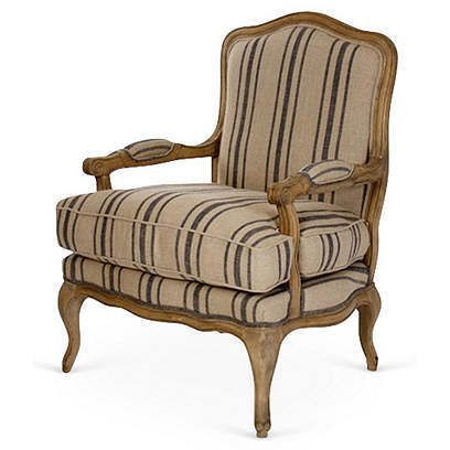Bergere Chair   One Kings Lane