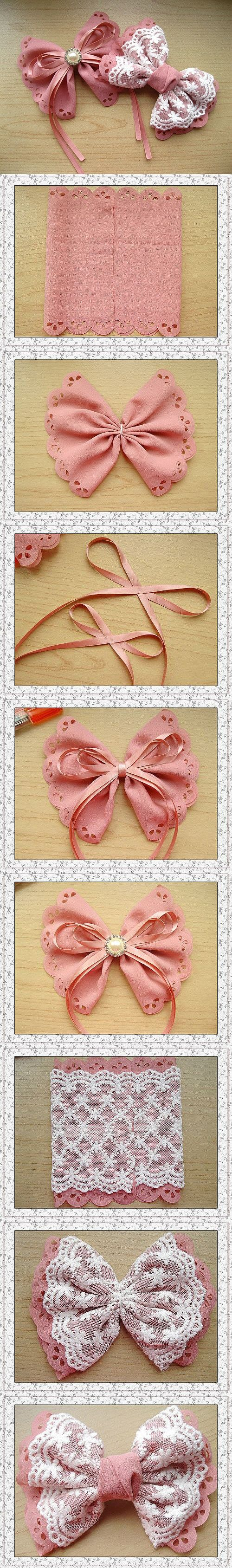 20 DIY Tutorials for Hair Accessories - Handmade Hair Accessories