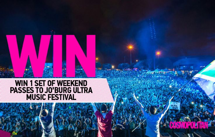 WIN 1 of 3 Sets of Tickets to Jo'burg Ultra Music Festival