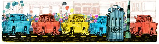 Google Doodle: German Unity Day 2013