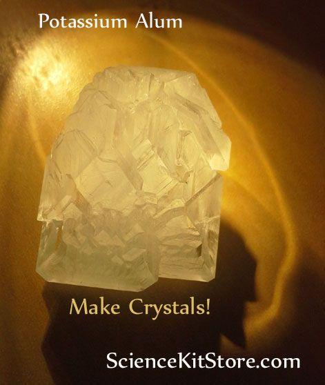 Crystal Growth Project-make that cave a little more real                                                                                                                                                                                 More