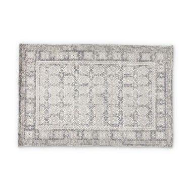 Vloerkleed print grijs - 120x180 cm