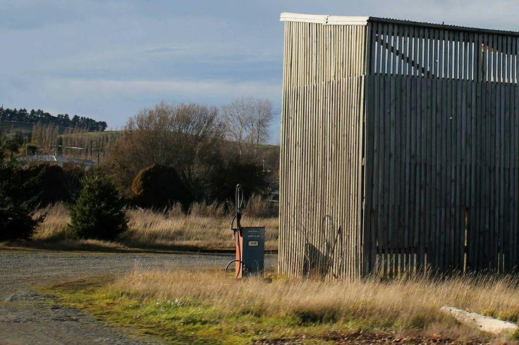 Gas Station #gas #station #barn #wood #car #gasstation #pump #queenstown #nz #newzealand #old