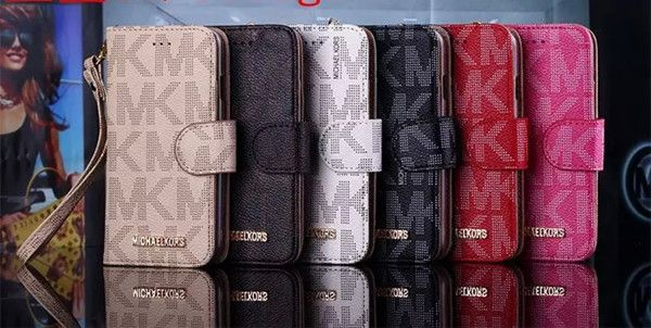 Michael kors wallet leather case with card holder iphone5 for Housse iphone 6 michael kors