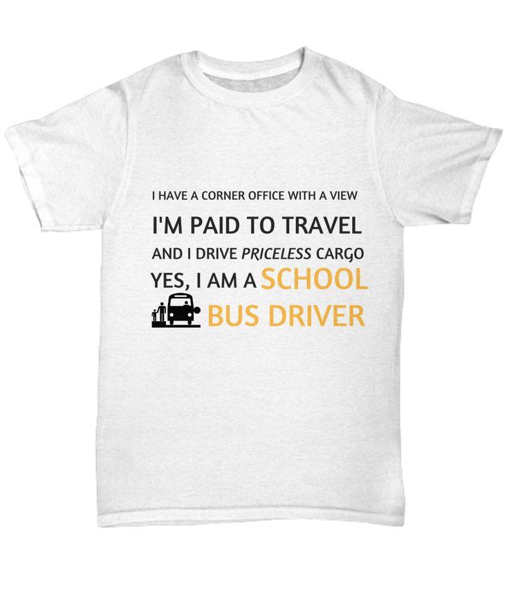 School Bus Driver Tee