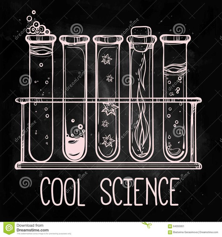 Hand drawn vintage laboratory icons sketch. Vector illustration. Back to School. Science lab objects doodle style sketch, Magical potions.
