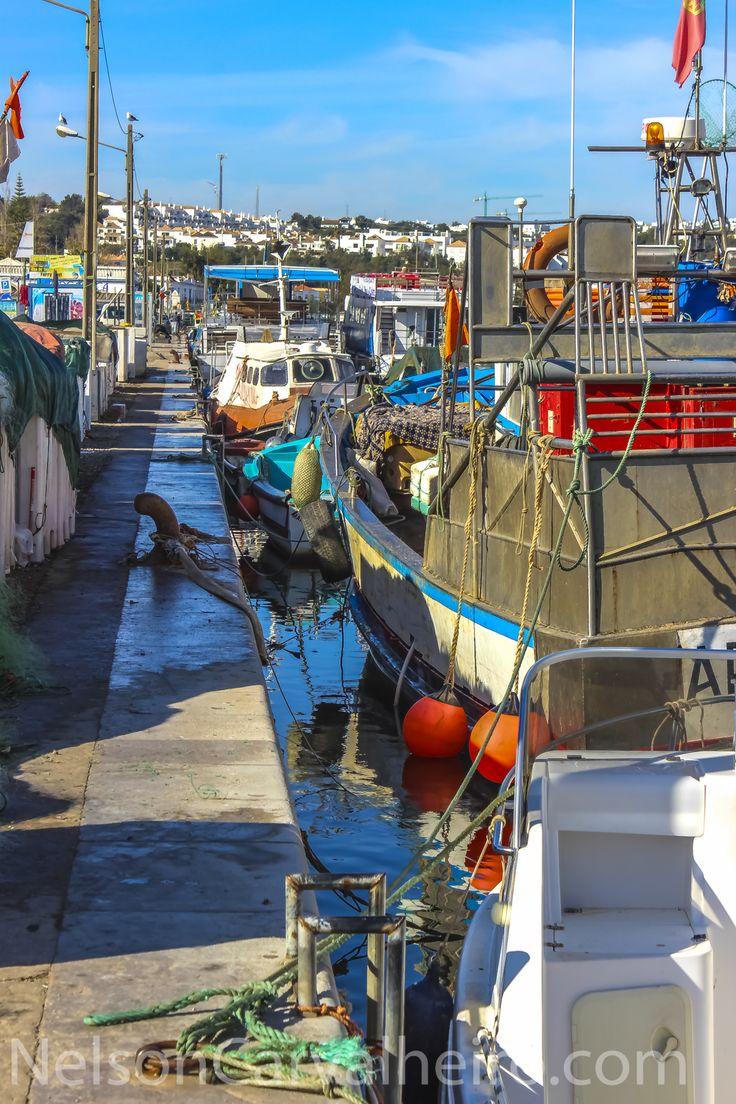 Tavira Fisherman Boats by NelsonCarvalheiro.com