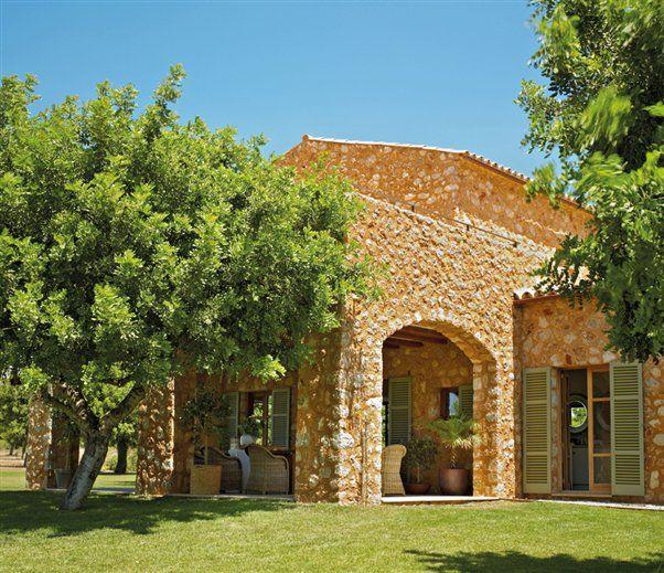 Un casa de campo hecha hoy como las de ayer - Casa country style ...