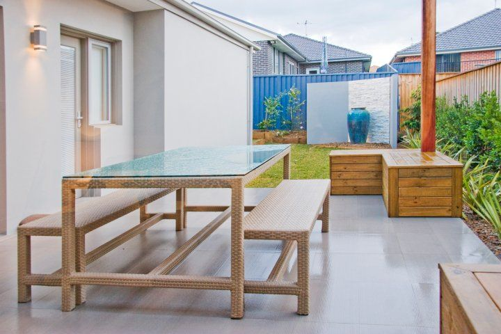 Trevelle Homes outdoor entertaining and dining area.