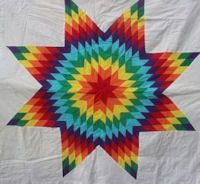 64 best Star Quilts images on Pinterest | Lone star quilt, Star ... : native american star quilt - Adamdwight.com