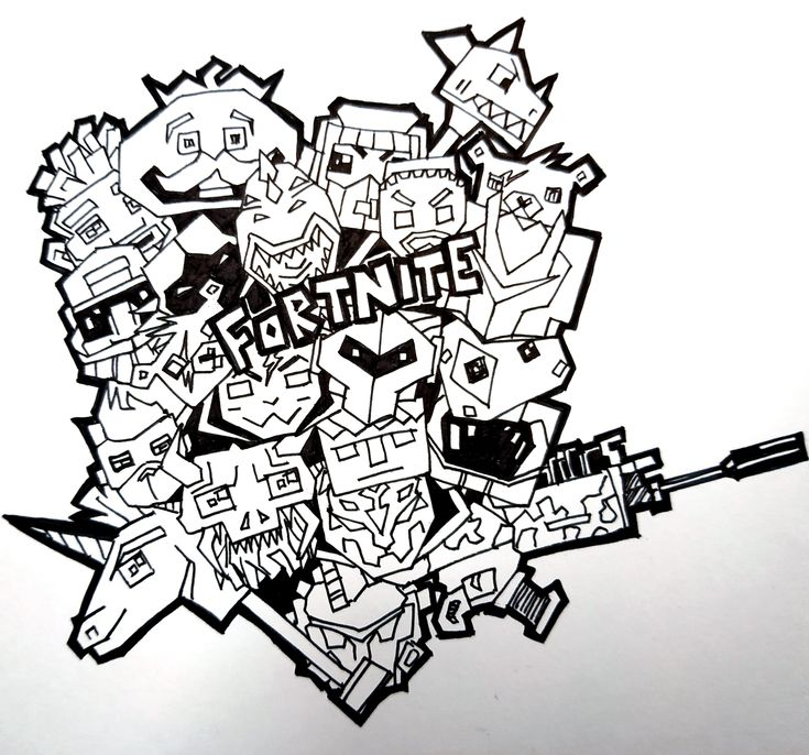Fortnite Doodle Art Asmr Fortnite Doodleart Asmr