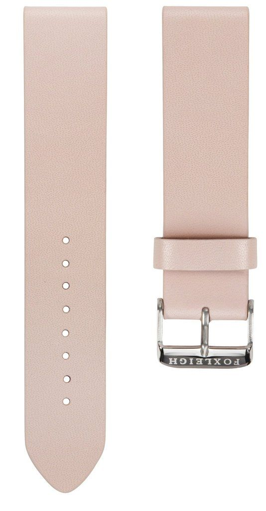 Straps - Peach With Silver Buckle