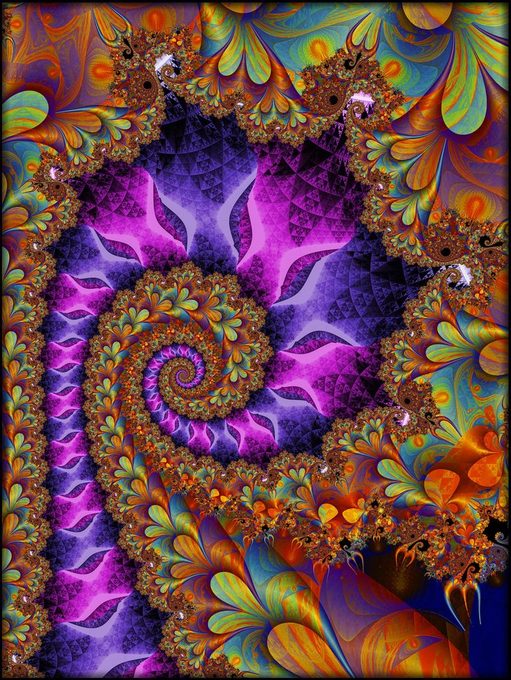 dreamy fractals abstract trippy - photo #23