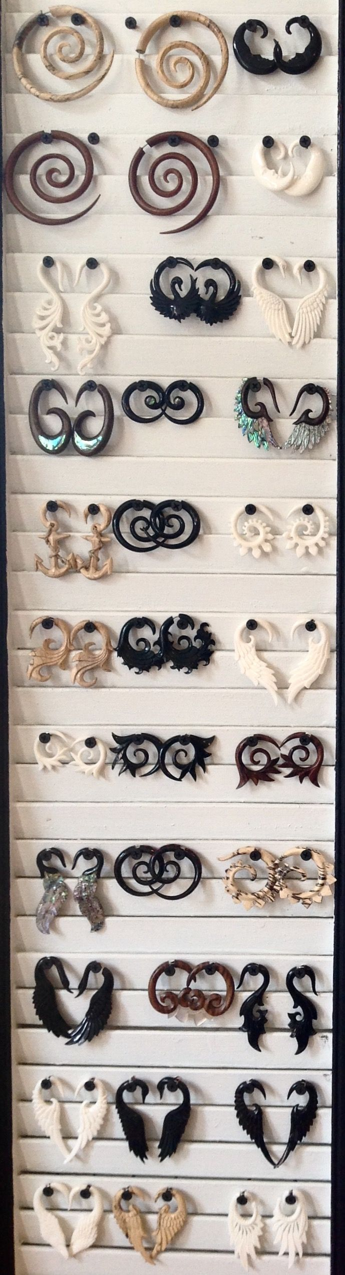 Bridge Street Bazaar is your source for the largest collection of wholesale fake gauge earrings, split plugs, and faux tapers.  Contact us for B2B inquiries!
