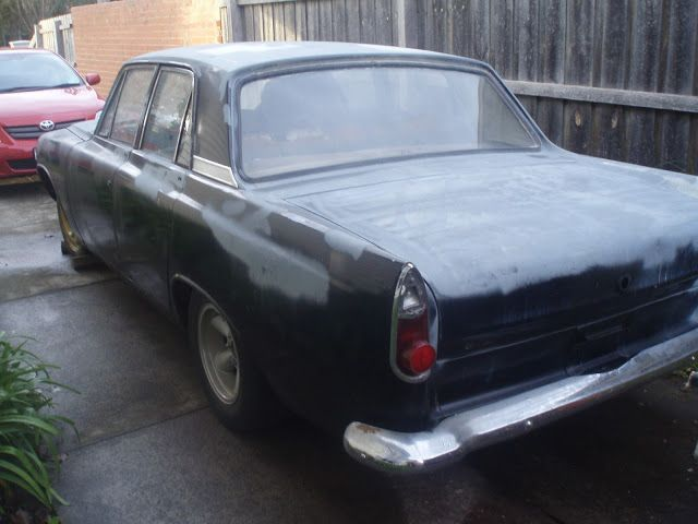 1962 Ford Zephyr 6 mk3. Rusty wreck. The third mk3 that I owned.