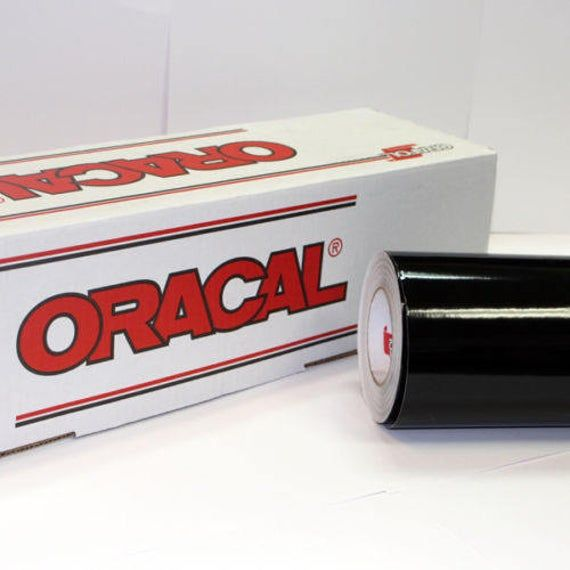 Black Oracal 751 24 X 10 Roll Sign Vinyl Decal Vinyl Vinyl Signs Craft Cutter Wholesale Craft Supplies