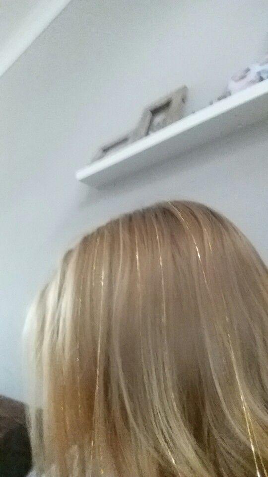 Hair tinsels