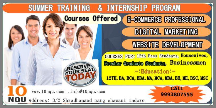 Summer Training Program And 100% Job