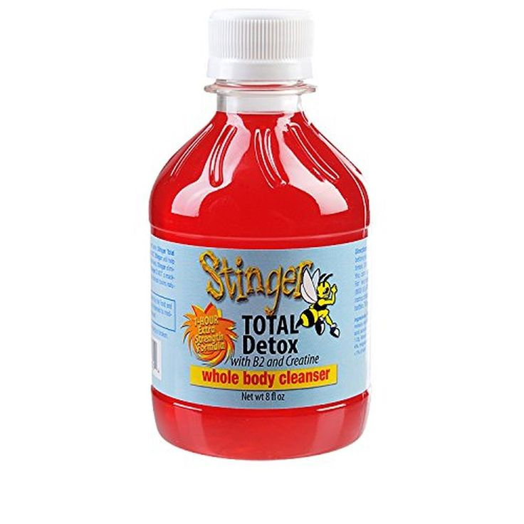 Stinger Total Detox 1 Hour Red Fruit Punch Cleanse 8 oz