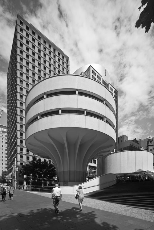 MLC Centre 1972-1975   Architect: Harry Seidler   Sydney, NSW, Australia  Source: flickr.com/photos/syntheticadventures   flickr.com/photos/88017382@N00