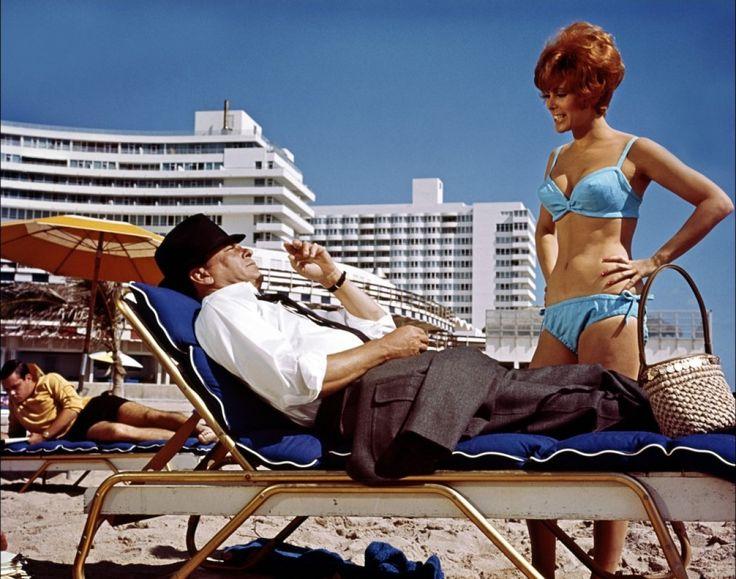 Frank Sinatra and Jill St. John in TONY ROME. Read my review by clicking on the link below. http://twentyfourframes.wordpress.com/2014/08/09/tony-rome-1967-gordon-douglas/