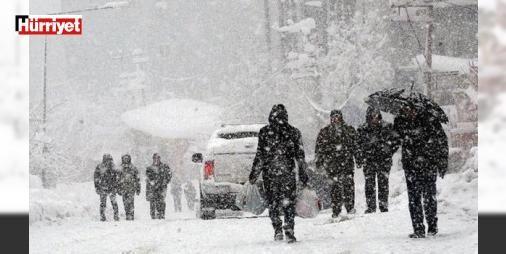 Şaka değil: Meteoroloji'den 'kar yağışı' uyarısı: Ülke genelinde bahar havası kendini göstermeye başlarken Meteoroloji'den doğu illeri için kar yağışı uyarısı yapıldı.